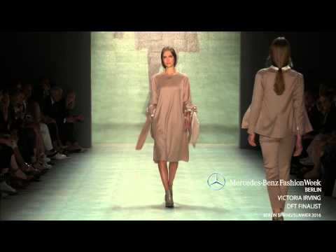 'DESIGNER FOR TOMORROW': VICTORIA IRVING - MERCEDES-BENZ FASHION WEEK BERLIN SS2016