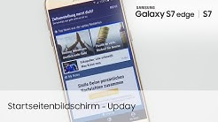 Samsung Galaxy S7 / S7 edge: Startbildschirm – Upday