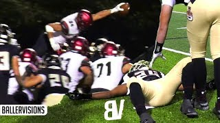 Oaks Christian VS JSerra Playoff THRILLER! #1 Player Kayvon Thibodeaux EJECTED + Player Got LAID OUT