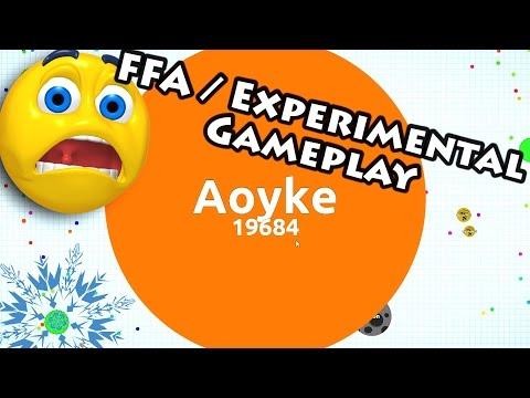 Agar.io - FFA/Experimental Gameplay