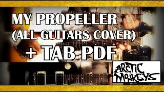 Arctic Monkeys   My Propeller Guitar Cover With TABS