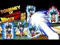 DRAGON BALL TOURNEY OF WARRIORS - CONSEGUI O GOKU ULTRA INSTINTO SUPERIOR 1000 KENI !