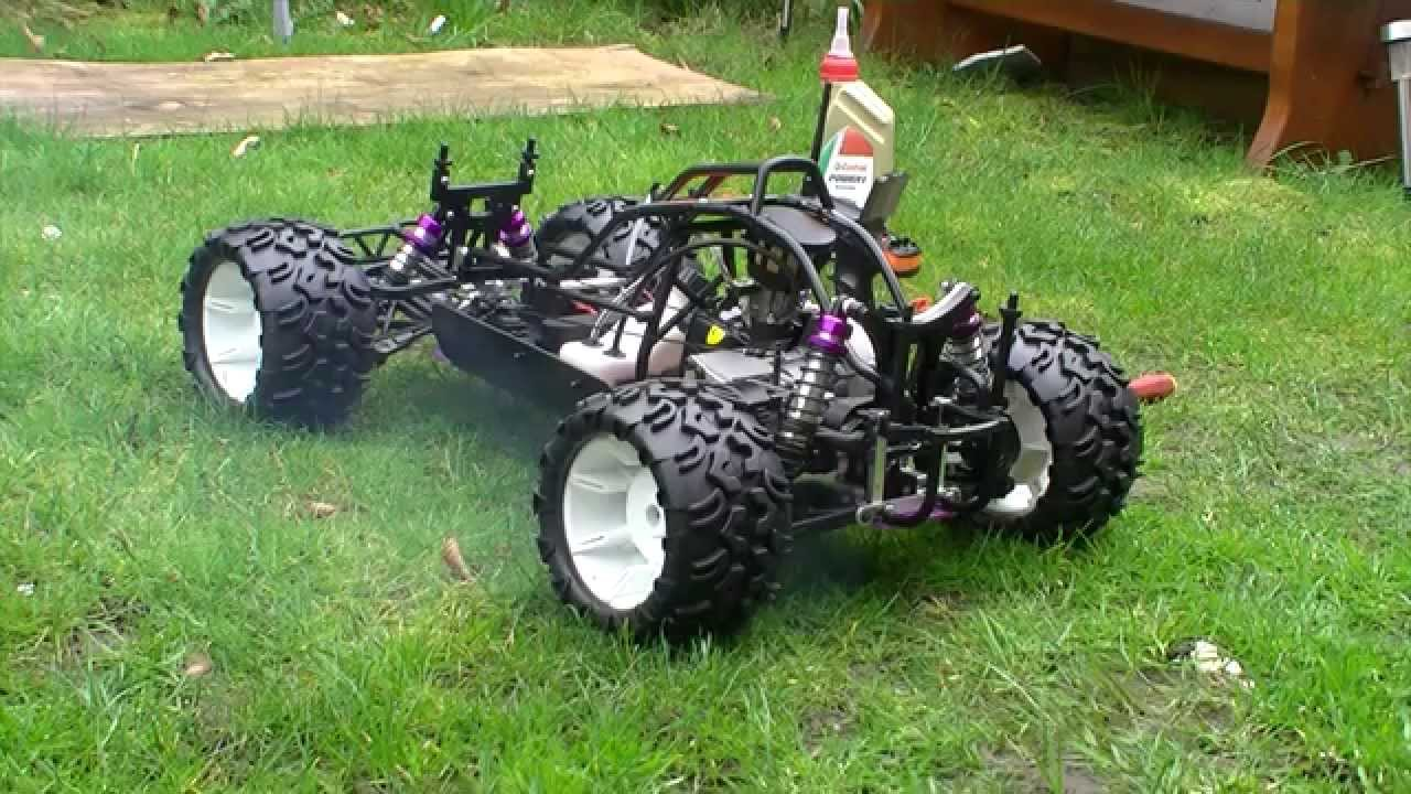 Image result for AoWei 1/5th 26cc Yama Petrol RC Buggy