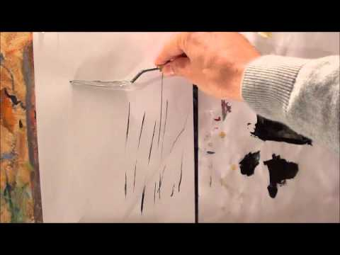 Abstract Painting Demo Making Daily Painter 25 01 2017