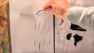 Tricks für die Acrylmalerei (2): Linien malen