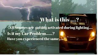 Wagon R || What is it ? बिजली कड़कना  के दौरान यह क्या हुआ ...