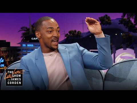 That Time Anthony Mackie Fell Off a Roof