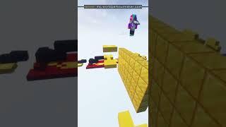 Custom Minecraft Parkour Server, World Parkour Maker, Level: myfirstlevel