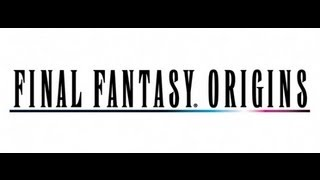 Classic PS1 Game FINAL FANTASY Origins on PS3 Upscaled to HD 1080p