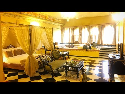 ₹ 15000 / Night Chunda Palace Hotel Udaipur Royal Imperial Suite Stay Experience & Review HD