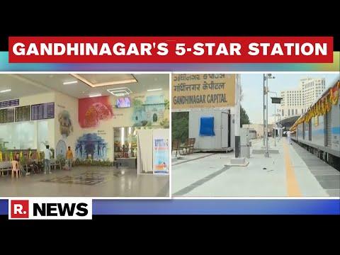 Inside Gujarat's 5-Star Gandhinagar Railway Station | Key Highlights & Features | Republic Exclusive
