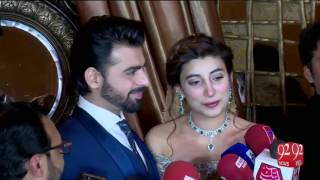 Farhan Saeed and Urwa Hocane's reception in Lahore 19-12-2016 - 92NewsHD