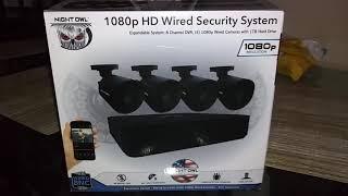 Night Owl 8 Channel DVR 1TRB hard drive