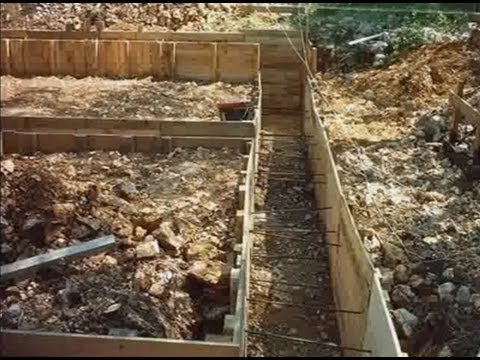 Terrassement Et Fondations Partie 1 - Youtube