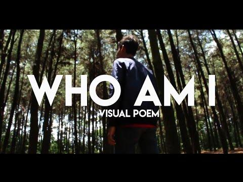 Visual Poem 'Who am i'