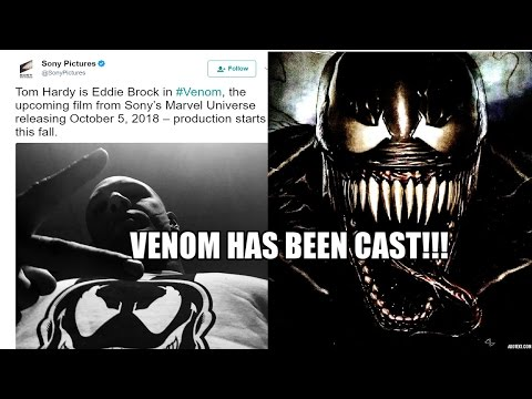 TOM HARDY has been cast AS VENOM!