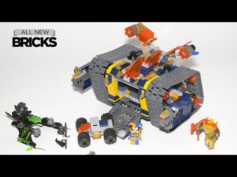 Lego Nexo Knights 72006 Axl's Rolling Arsenal Speed Build