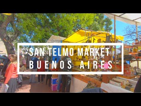 Argentina Buenos Aires | San Telmo Market Tour