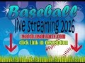 live Baseball 2016 Czech Republic vs Germany EUROPE European Championship