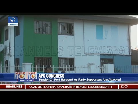 Tension In Port Harcourt As APC Supporters Are Attacked