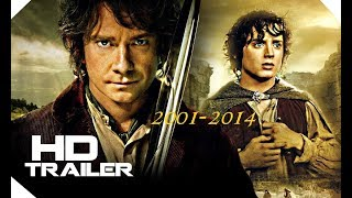 All Lord of the Ring and The Hobbit Saga Trailers ( 2001-2014)