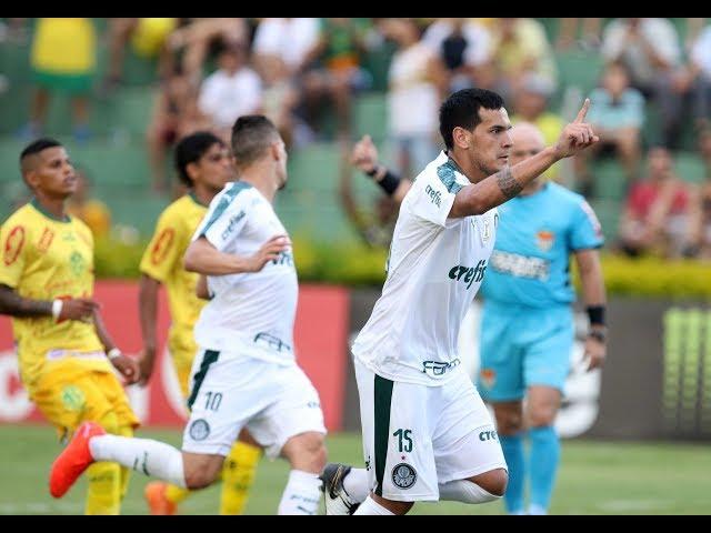 Gol de Gustavo Gómez - Mirassol 0 x 1 Palmeiras - Narração de Fausto Favara