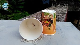 How to Make a Telephone Using Paper Cup (DIY Toy) - Creative Bijoy
