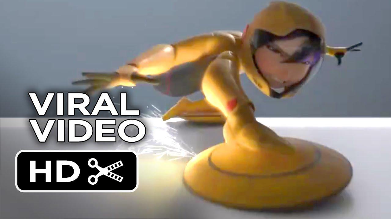 Big Hero 6 Viral Video Go Go 2014 Jamie Chung Disney Animation Movie Hd Youtube