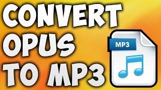 How to Convert OPUS to MP3 Online - Best OPUS to MP3 Converter [BEGINNER'S TUTORIAL] screenshot 1