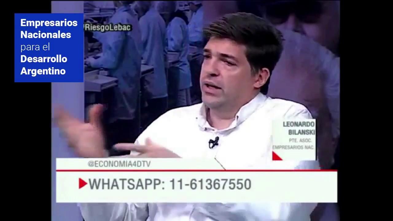 """""""""""Crean las condiciones para despedir trabajadores sin culpa"""" Leo Bilanski"""