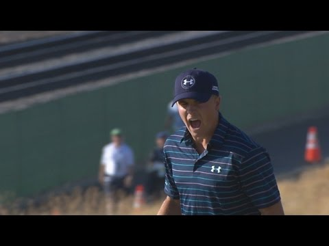 Jordan Spieth's birdie putt on 16 at U.S. Open is No. 4 shot of 2015