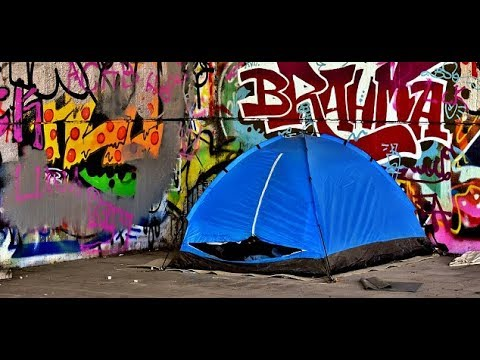 Homeless Evicted From A Tent City In Oshawa