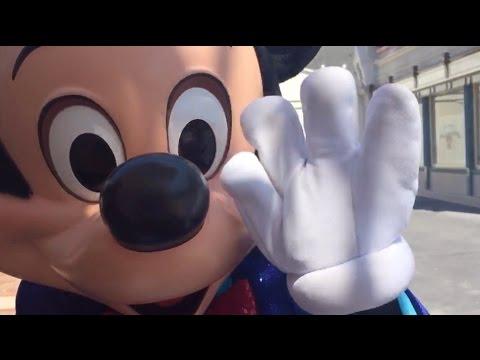 Disneyland 60th anniversary character costumes