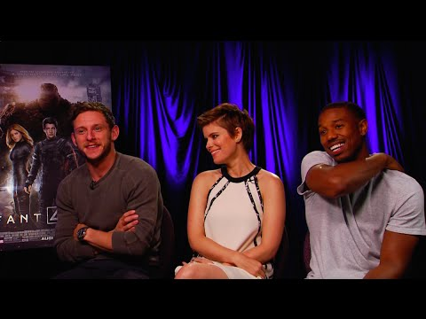 Jamie Bell, Kate Mara and Michael B. Jordan Interview - FANTASTIC FOUR - This Is Infamous