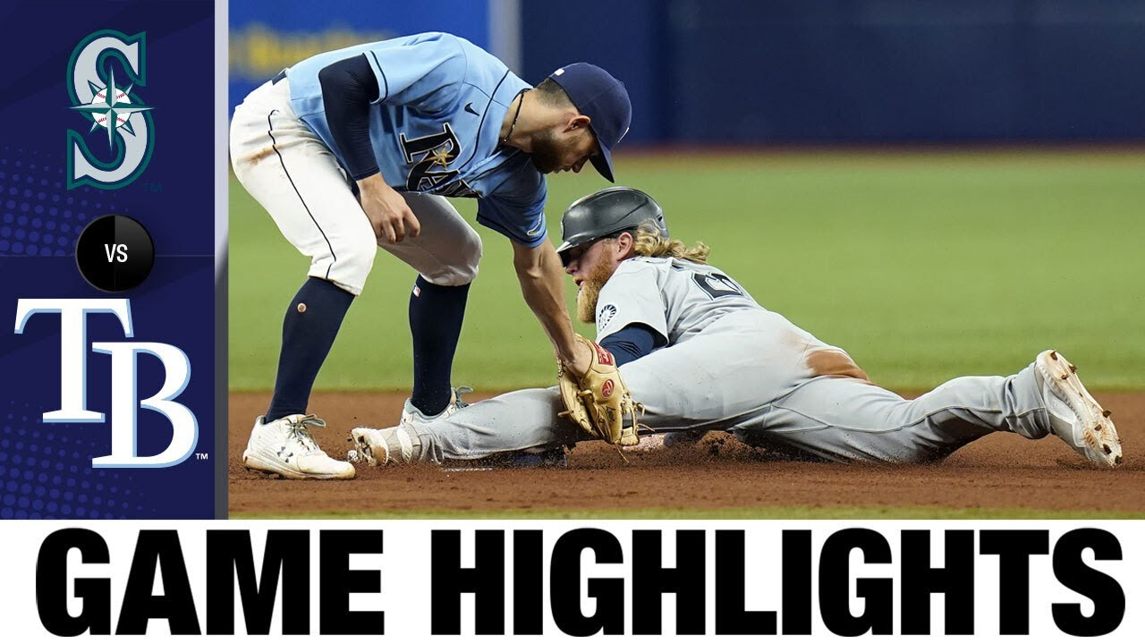 Download Mariners vs. Rays Game Highlights (8/2/21)   MLB Highlights