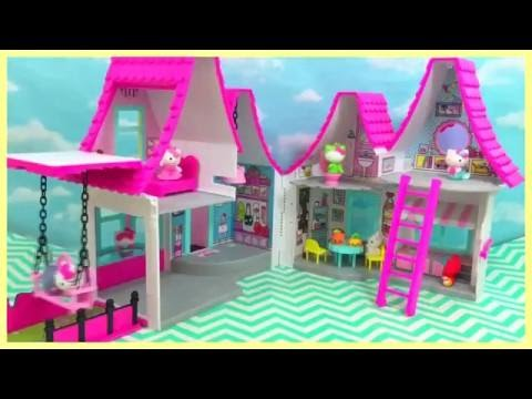 Hello Kitty Play House Unboxing and Surprise itsplaytime612