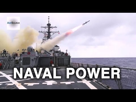U.S. Naval Power! Navy Destroyer Squadron 15 Demonstration