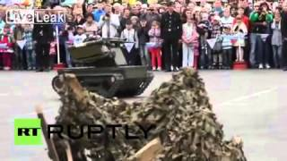 [LOL]Russia: New Platform-M combat robot on show at military festival [2016]