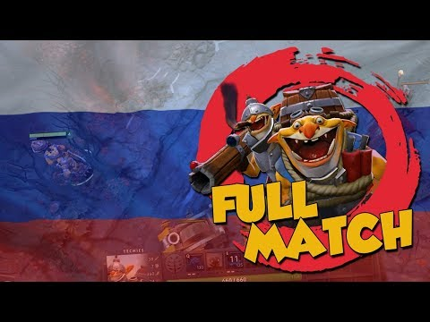 Russians Everywhere! - DotA 2 Techies Ranked Match