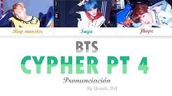 BTS - CYPHER PT. 4   Letra fácil (Pronunciación)