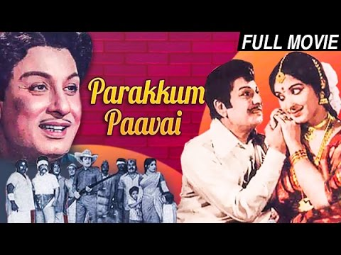 Parakkum Paavai | MGR | B Saroja Devi, Kanchana | Tamil Full Movie | MGR Movies