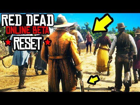 RED DEAD ONLINE WIPE & RESET OF STATS? When Does Red Dead Beta END? RDR2 Online Gameplay!