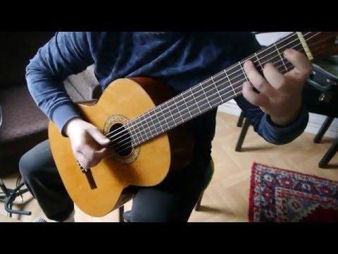 Aqua - Barbie Girl (Classical Guitar Cover)