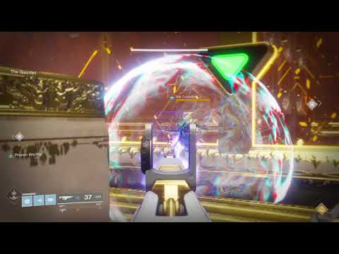 Destiny 2 - Prestige Leviathan raid: Gauntlet - Shooting the Councilors through their bubbles