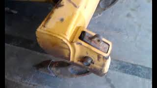 Heavy Equipment Repair on a Caterpillar dozer