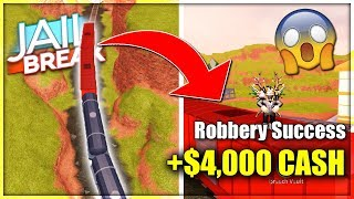 'NEW' JAILBREAK INSTANT ROB TRAIN GLITCH EST DE RETOUR?? (ROBLOX JAILBREAK TRAIN GLITCH)