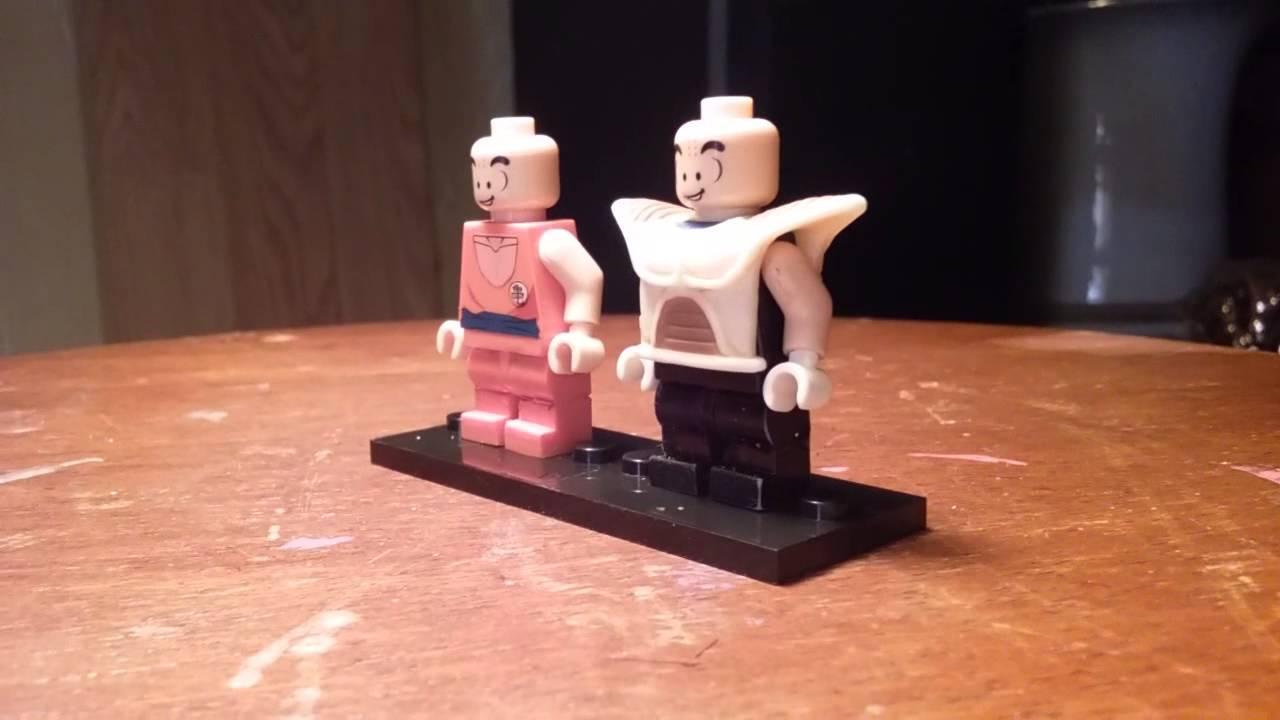 Lego Custom Dbz Krillin Saiyan Armor Youtube
