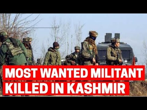 Zakir Musa, most wanted militant, killed in Kashmir