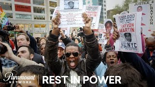 The Trayvon Martin March In Union Square | Rest In Power: The Trayvon Martin Story