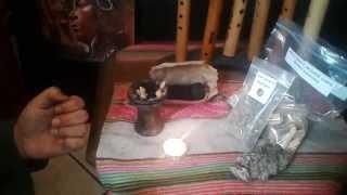 Como quemar incienso palo santo usando carbón